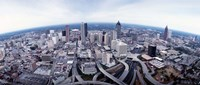 Ariel View of Atlanta, Georgia Fine Art Print