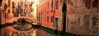 Building Reflections In Water, Venice, Italy Fine Art Print