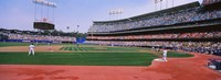 Dodgers vs. Yankees, Dodger Stadium, California Fine Art Print