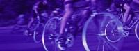 Bicycle Race Fine Art Print