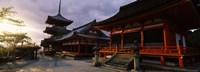 Kiyomizu-Dera Temple, Kyoto, Japan Fine Art Print