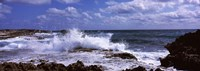 Coastal Waves, Cozumel, Mexico Fine Art Print