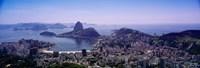 View of Rio De Janeiro, Brazil Fine Art Print