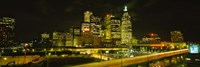 Gardiner Expressway at Nighttime, Toronto, Canada Fine Art Print