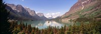 Saint Mary Lake, Montana Fine Art Print