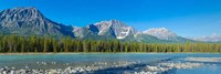 Athabasca River, Icefields Parkway, Jasper National Park, Alberta, Canada Fine Art Print
