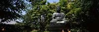 Buddha in Asakusa Kannon Temple, Tokyo Prefecture, Japan Fine Art Print
