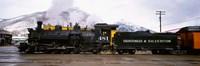 Steam Train, Durango and Silverton Narrow Gauge Railroad, Colorado Fine Art Print