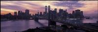 Brooklyn Bridge, Manhattan, New York City Fine Art Print