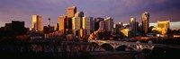 Bow River, Calgary, Alberta, Canada Fine Art Print
