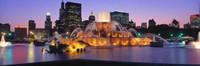 Buckingham Fountain, Chicago, Illinois Fine Art Print