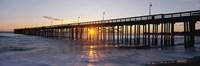 Ventura Pier at Sunset Fine Art Print