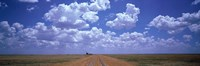 Clouds Over Prairie, Amarillo, TX Fine Art Print