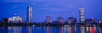 Skyline, Boston, Massachusetts Fine Art Print
