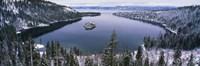 Emerald Bay, Lake Tahoe, CA Framed Print