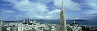 Skyline with Transamerica Building, San Fransisco Fine Art Print