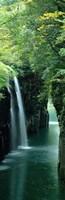 Waterfall in Miyazaki, Japan Fine Art Print
