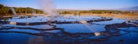 Great Fountain Geyser, Yellowstone National Park, Wyoming Fine Art Print