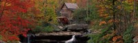 Glade Creek Grist Mill, West Virginia Fine Art Print