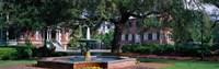 Columbia Square Historic District, Savannah, GA Fine Art Print