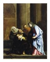 Simeon with the Infant Jesus Fine Art Print