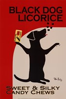 Black Dog Licorice Fine Art Print