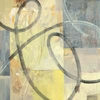 Ribbon Dance I Framed Print