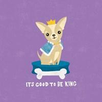 Good Dogs Chihuahua Bright Fine Art Print