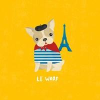 Good Dogs French Bulldog Bright Fine Art Print