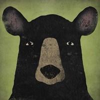 The Black Bear Fine Art Print