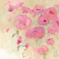 Floral Watercolor Crop Fine Art Print