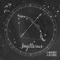 Night Sky Sagittarius. Fine Art Print