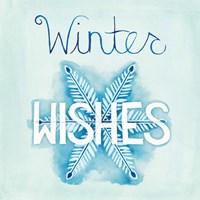 Snowflake Sayings II Fine Art Print