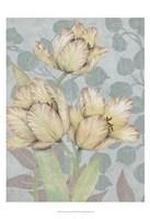 Trois Fleurs II Framed Print