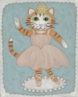 Ballerina Animal IV Fine Art Print