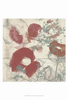 Floral Flutter I Framed Print