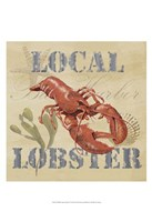 Wild Caught Lobster Fine Art Print