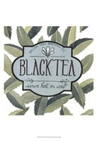 Tea Label II Framed Print