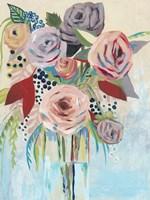 Roseate Posy II Fine Art Print