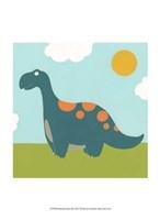 Playtime Dino III Fine Art Print