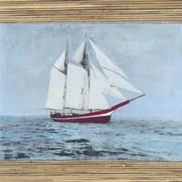 Seagrass Nautical I Fine Art Print