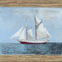 Seagrass Nautical II Fine Art Print