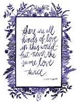 Love Quote IV Framed Print