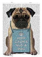 Hug a Pug Fine Art Print