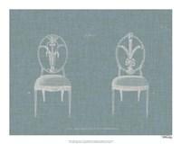 Hepplewhite Chairs IV Fine Art Print