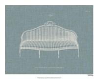 Hepplewhite Sofas IV Framed Print
