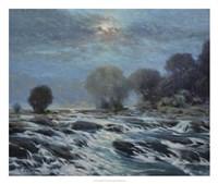 Moon Rapids Fine Art Print