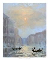 Venice Morning Mist Fine Art Print