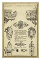 Antique Decorative Locks II Fine Art Print