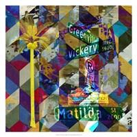 Greenville & Matilda - Dallas Fine Art Print